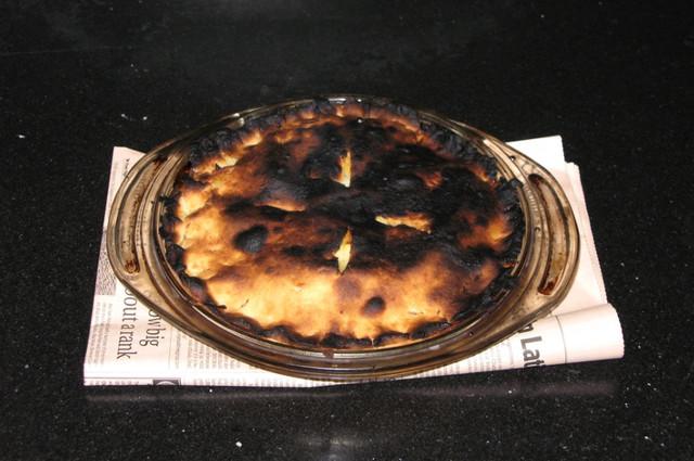 Чтобы не подгорел пирог в духовке