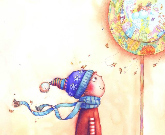 Добрые картинки от художницы Melanie Florian