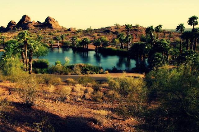 Самые красивые оазисы в мире
