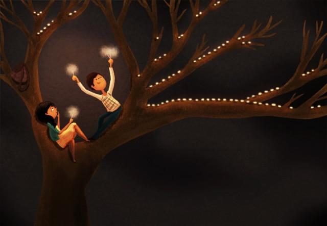 Художник Nidhi Chanani: самые добрые рисунки