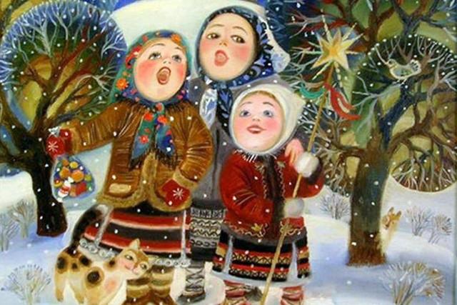 Рождественские колядки для детей и взрослых