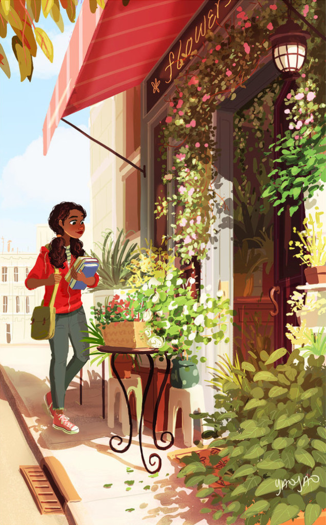 Художница Yaoyao Ma Van As: самые теплые краски