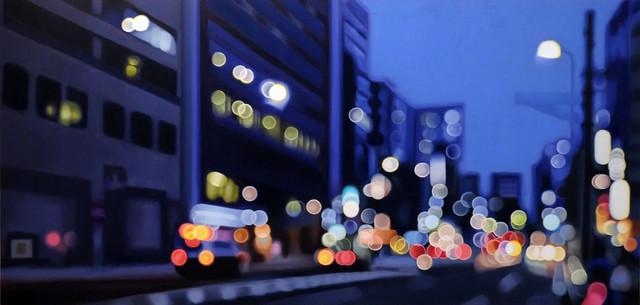 Как видят мир близорукие: художник Philip Barlow