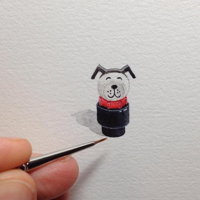 Потрясающие миниатюры от художницы Брук Ротшанк