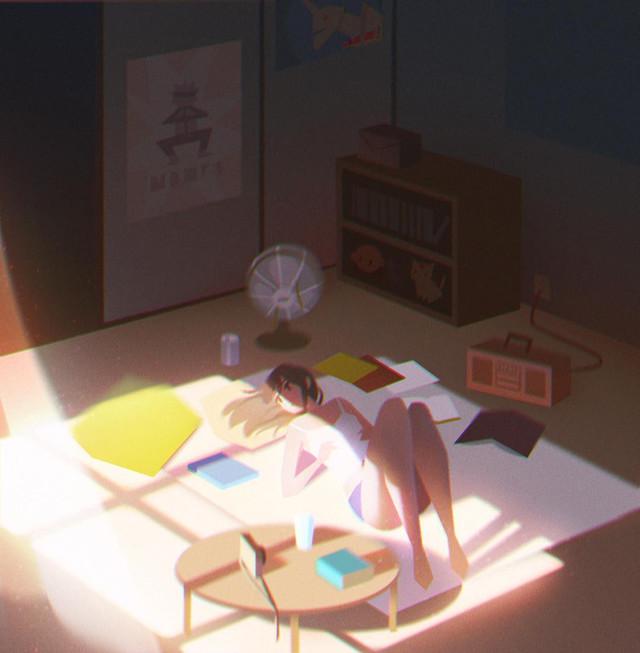 Художница Jenny Yu рисует все прелести осени
