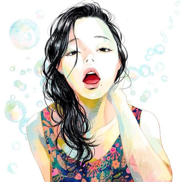 Аромат счастья в рисунках художницы Zipcy