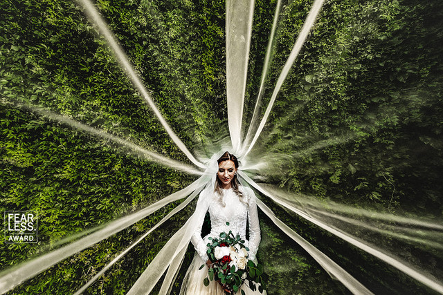 Свадебные фотографии года по версии Fearless