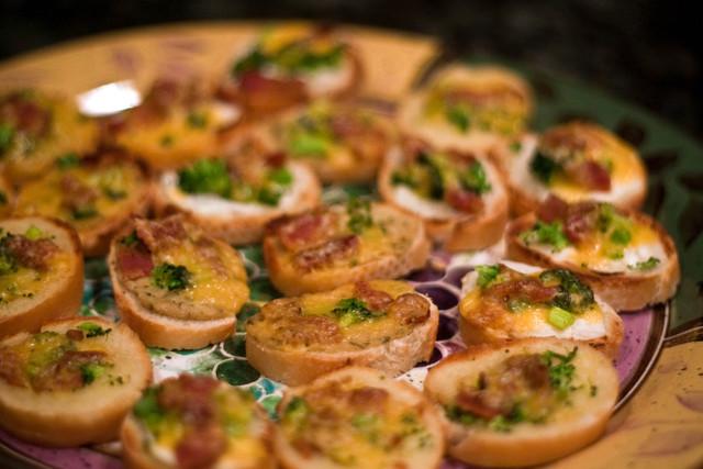 Новогодние бутерброды для офисной вечеринки