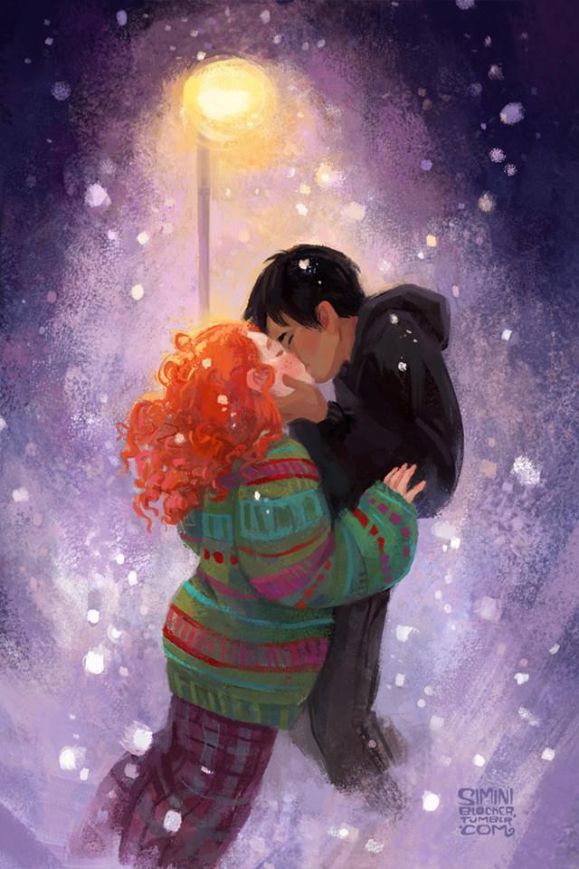 Самые зимние художники и их зимние иллюстрации