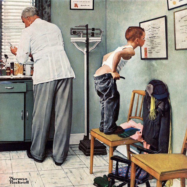 Художник Норман Роквелл и его душевные иллюстрации