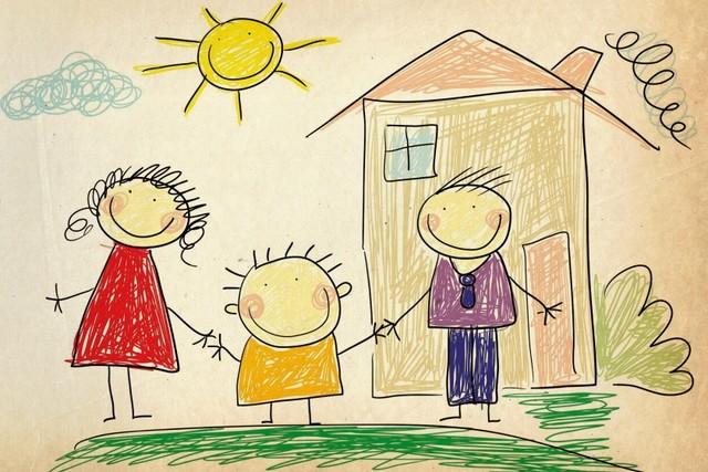 Детский рисунок семьи: история одной расшифровки
