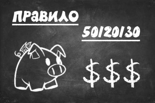 Что такое правило 50/20/30: расходы и финансы