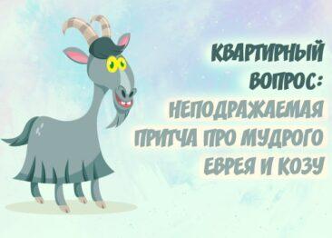 Неподражаемая притча про мудрого еврея и козу
