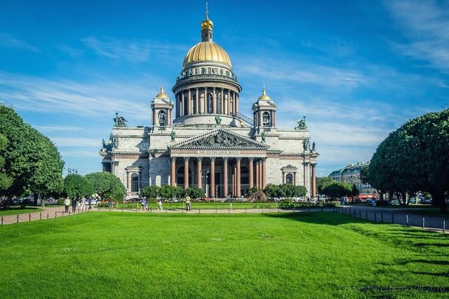 ТОП-5 самых посещаемых мест Санкт-Петербурга