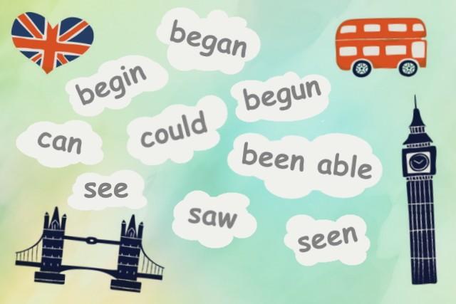 50 самых важных неправильных глаголов в английском
