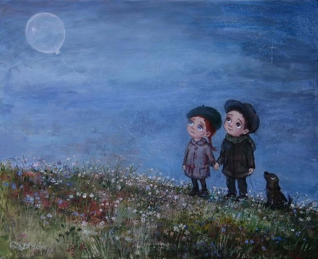 Художница Нино Чакветадзе: окошко в детство