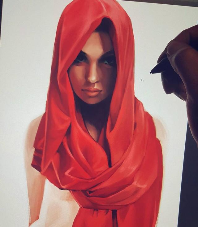 Художник Mel Milton: мастер женских портретов