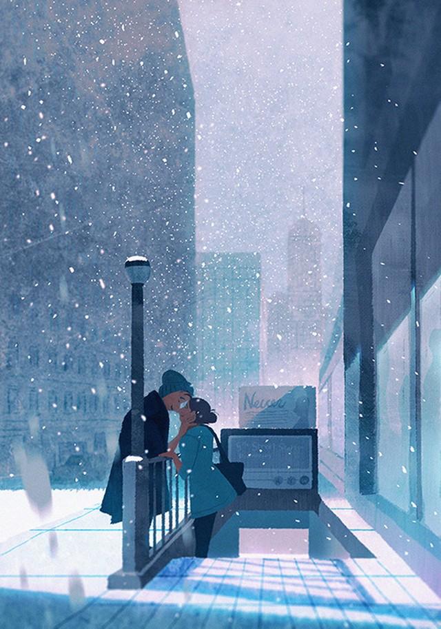 Лучшие зимние иллюстрации со вкусом сказки