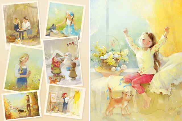 Художница Екатерина Бабок: свет далекого детства
