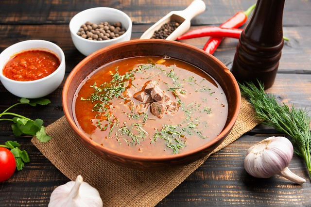 Лучшие рецепты любимого супа харчо