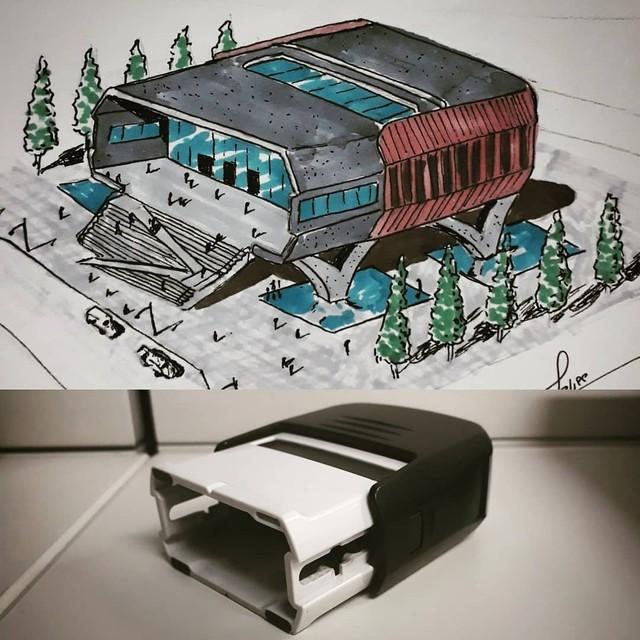 Дизайнер превращает обычные вещи в архитектуру