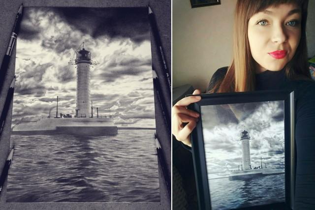 Художница Таня Мусатенко: восторг на кончике карандаша